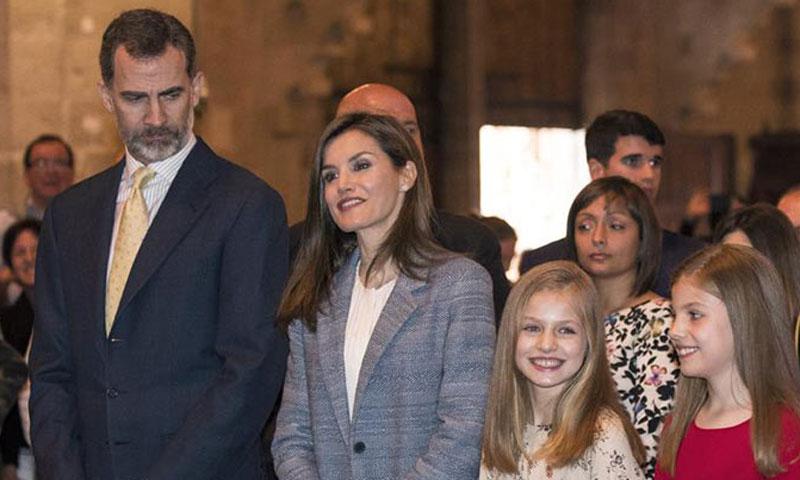 La infanta Sofía, ¿rodeada de Príncipes para soplar las velas de su tarta de cumpleaños?