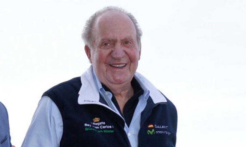 El rey Juan Carlos: 'Ahora ya no navegaré de extranjis'