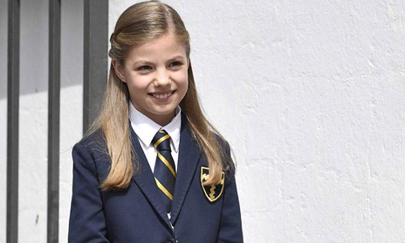 El significado del traje de Primera Comunión de la infanta Sofía
