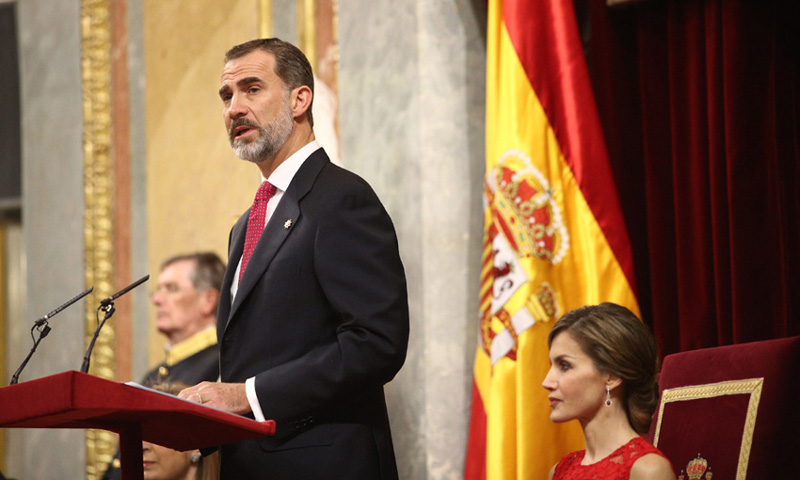 Los Reyes presiden el 40º aniversario de las primeras elecciones democráticas