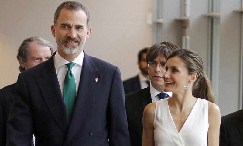 Los reyes Felipe y Letizia presiden la entrega de los Premios Fundación Princesa de Girona