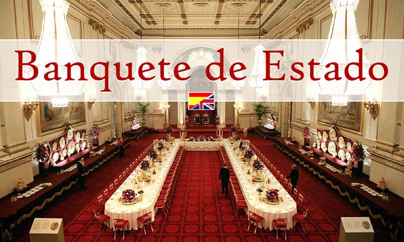 Visita de Estado: ¿cómo se organiza una cena de gala en el Palacio de Buckingham?