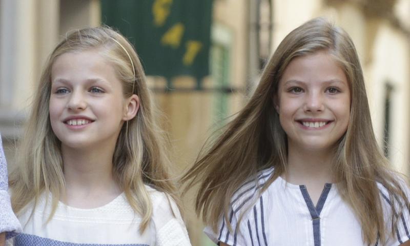 La princesa Leonor y la infanta Sofía, sin planes de niños en Mallorca