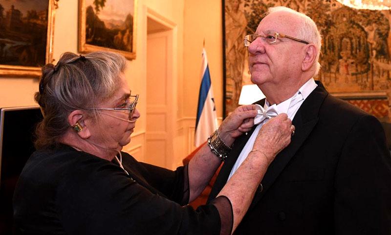 Así se prepararon el Presidente israelí y su mujer para la gran cena en el Palacio Real