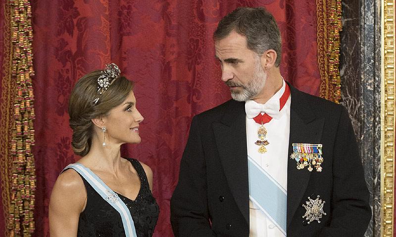 Menú kosher, música de Barbra Streisand... Todos los detalles de la cena en Palacio Real