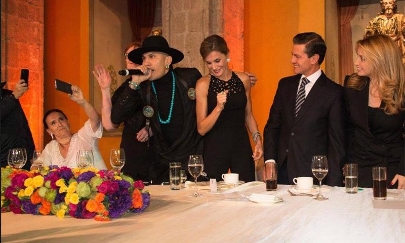 En vídeo: La divertida cena de bienvenida en México con doña Letizia moviéndose a ritmo de Taboo