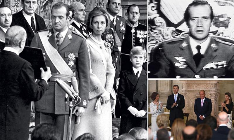 Hitos durante el reinado del rey Juan Carlos