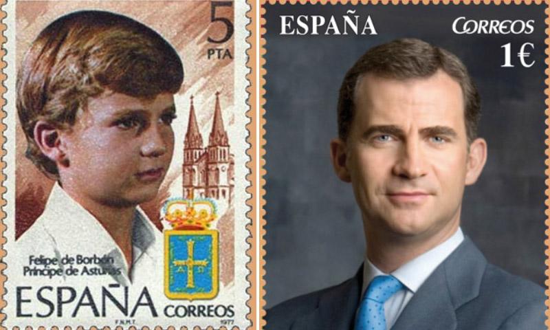 ¿Cómo es el nuevo sello conmemorativo del Rey?