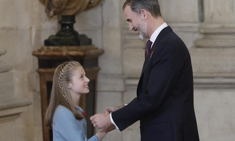 ¿Qué significa que Felipe VI imponga a Leonor el Toisón de Oro?