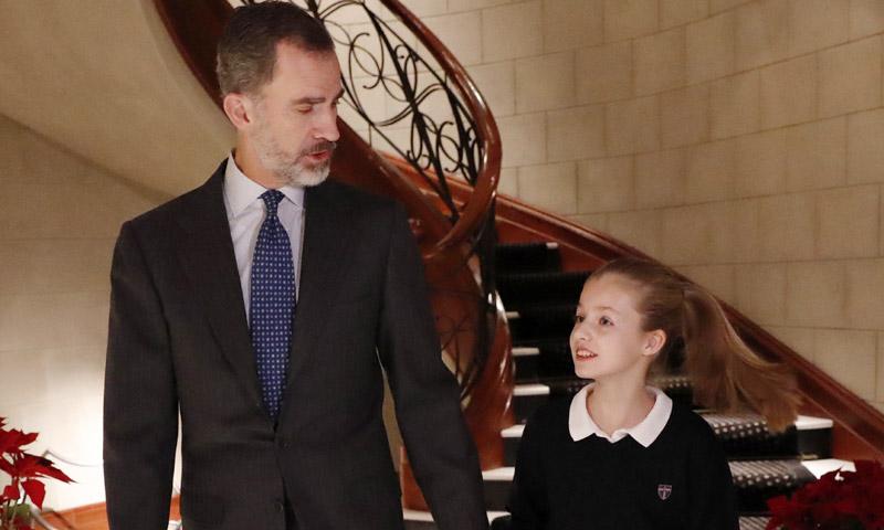 El Rey celebra hoy sus cincuenta años imponiendo el Toisón de Oro a la princesa Leonor