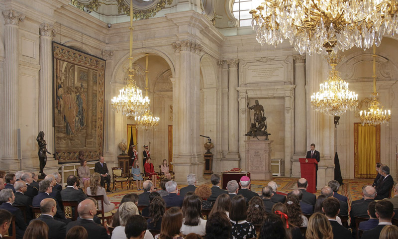 Así es el escenario en el que se han celebrado los más señalados acontecimientos del reinado de Felipe VI