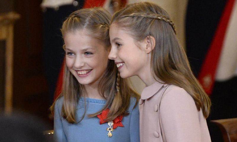 La química especial de la princesa Leonor y la infanta Sofía