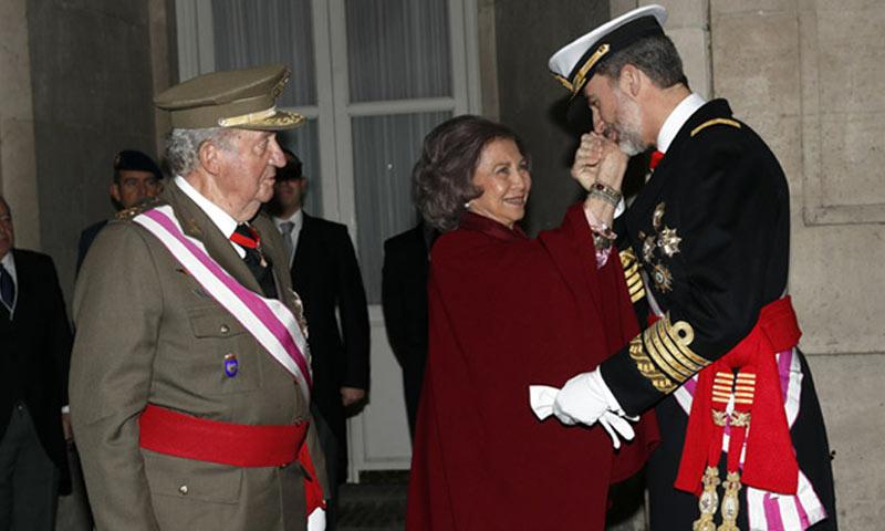 Los reyes Juan Carlos y Sofía, grandes protagonistas de la agenda oficial de esta semana