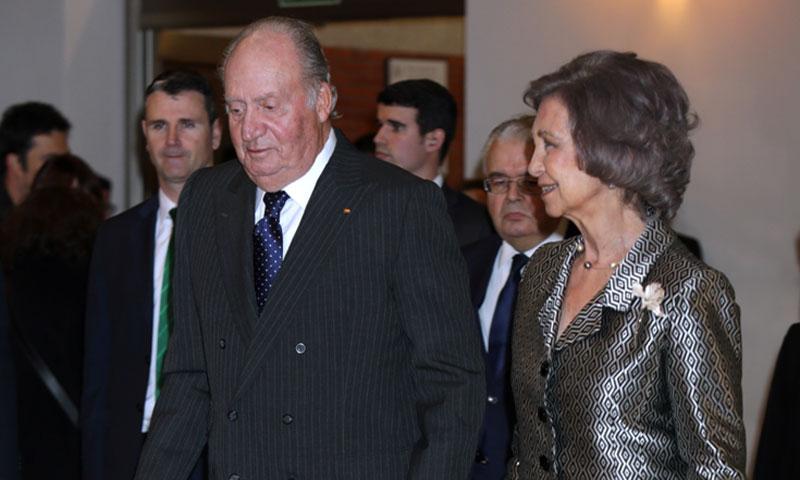 Los reyes Don Juan Carlos y Doña Sofía apoyan un año más a las víctimas del terrorismo