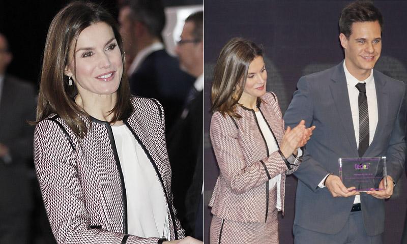 Doña Letizia y Christian Gálvez, unidos por una causa común