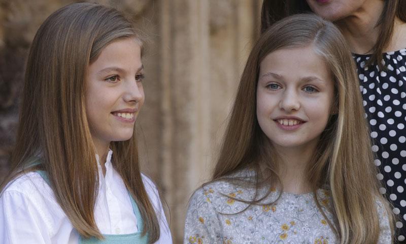 La princesa Leonor y la infanta Sofía, las auténticas protagonistas de la Misa de Pascua