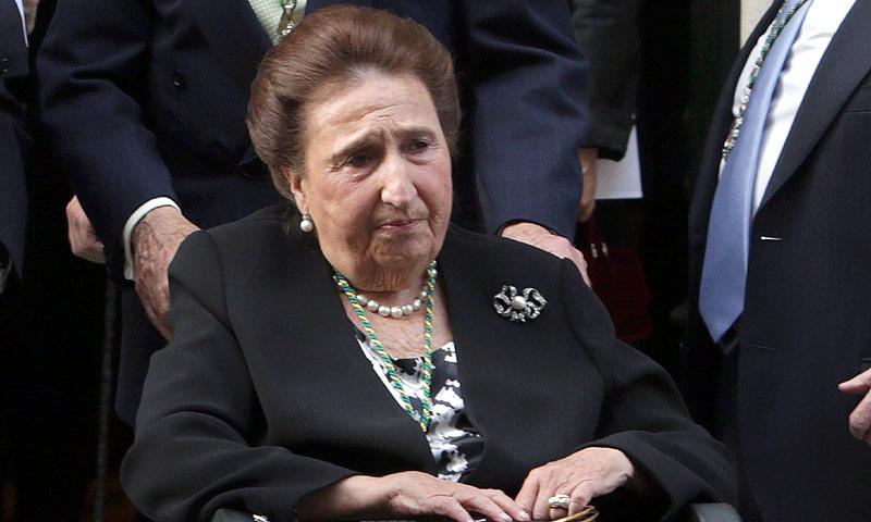 c717be77009d La infanta Margarita se pronuncia sobre el polémico vídeo de la reina  Letizia
