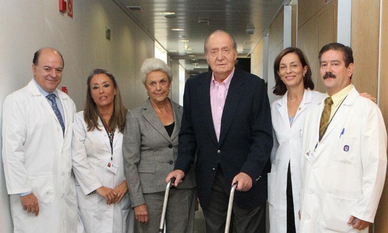Las 15 operaciones del rey Juan Carlos a lo largo de su vida