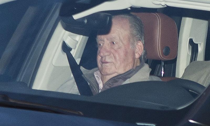 Las imágenes del ingreso hospitalario del rey Juan Carlos