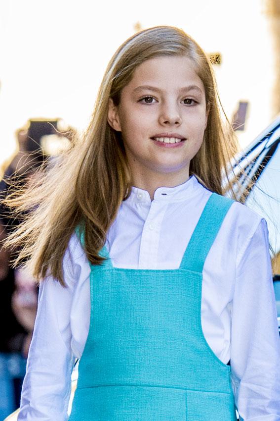 Infanta Sofia Asi Son Los 11 Anos De La Hija De Los Reyes