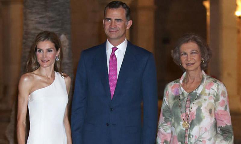 Foto a foto, así han sido las últimas recepciones en el Palacio de La Almudaina
