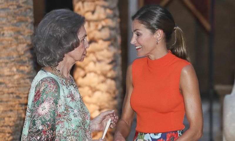 Lo que no se vio de la recepción real en Palma: la complicidad de la reina Letizia y doña Sofía
