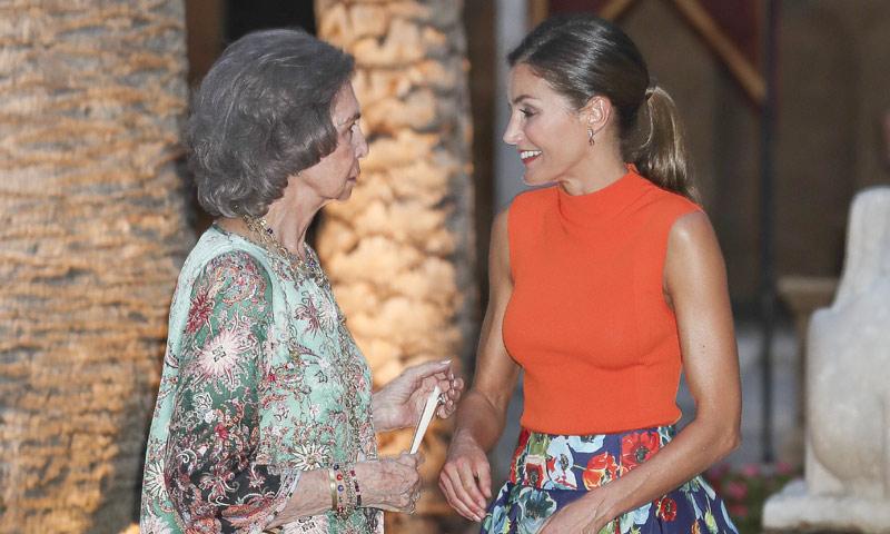 Exclusiva en ¡HOLA!: Las fotos más buscadas del verano de las dos Reinas