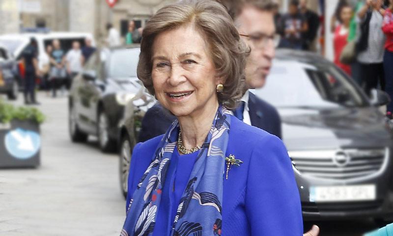 La reina Sofía se incorpora a la agenda oficial