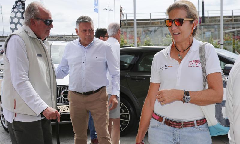 El rey Juan Carlos vuelve a competir en las regatas tras su destacada ausencia en Palma de Mallorca