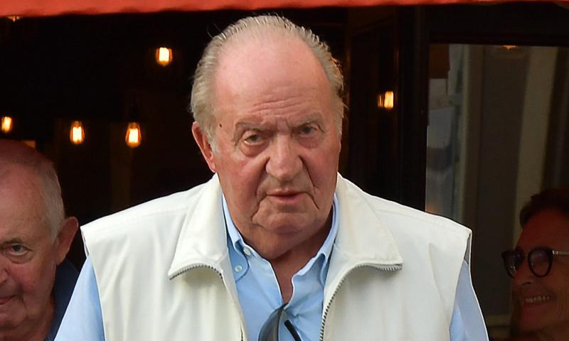 El Rey Juan Carlos pasa el fin de semana en las regatas de Saint Tropez