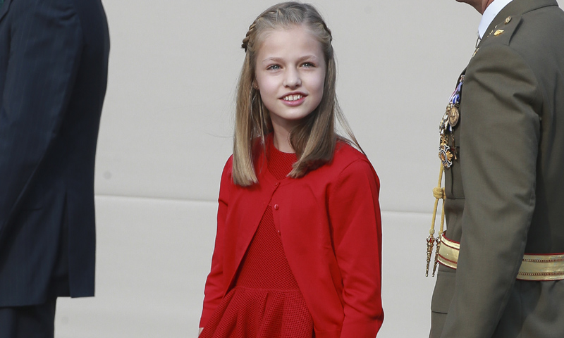 ¿Por qué no veremos a la Princesa Leonor vestida de Militar en el Día de la Fiesta Nacional?