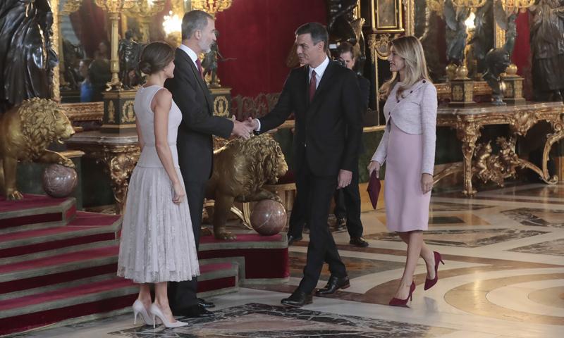 La Casa Real aclara lo ocurrido con Pedro Sánchez en la recepción de la Fiesta Nacional