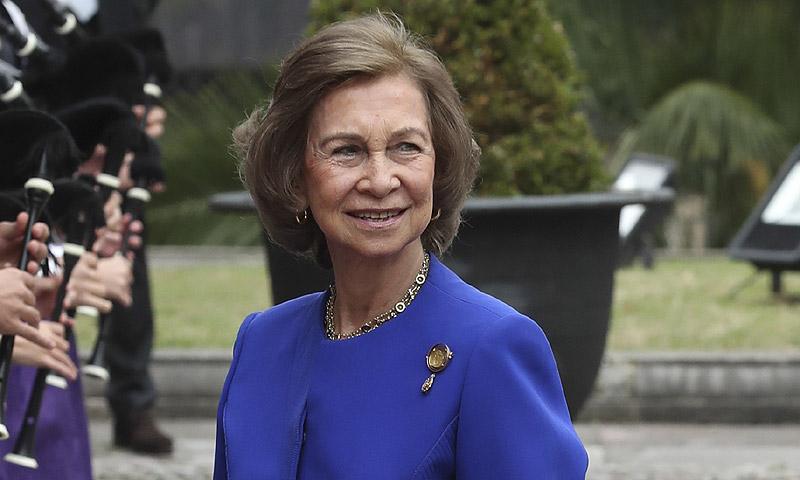 La reina Sofía llega a Oviedo para los Premios Princesa de Asturias