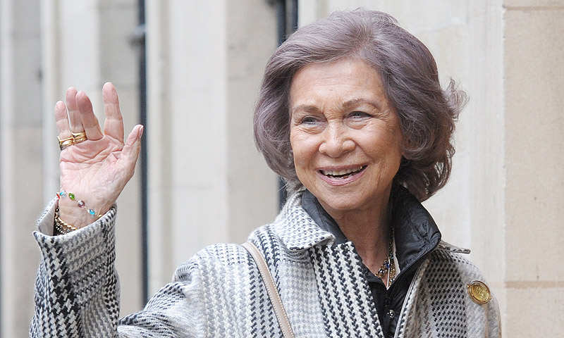 Así tiene previsto celebrar doña Sofía su 80 cumpleaños