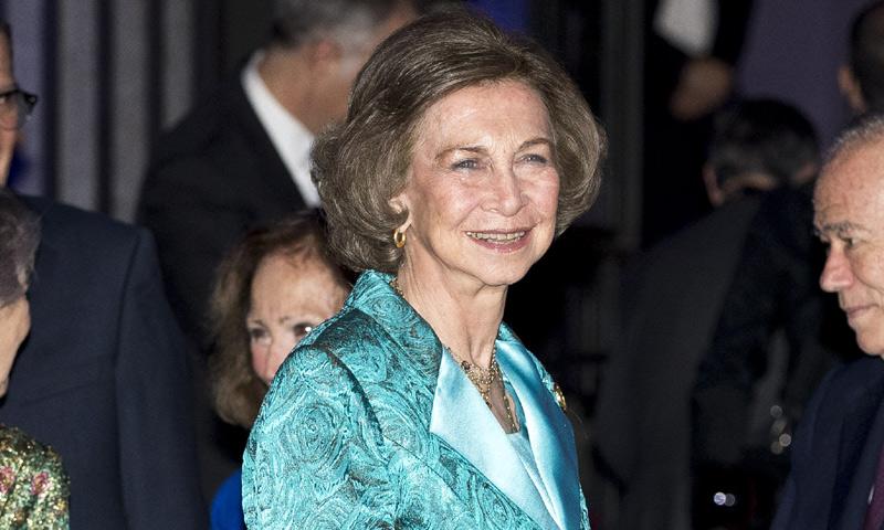 Ovación, almuerzo... ¡y concierto! para celebrar públicamente los 80 años de la reina Sofía