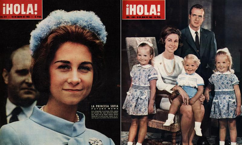 Reina Sofía, un vida en portada de ¡HOLA!
