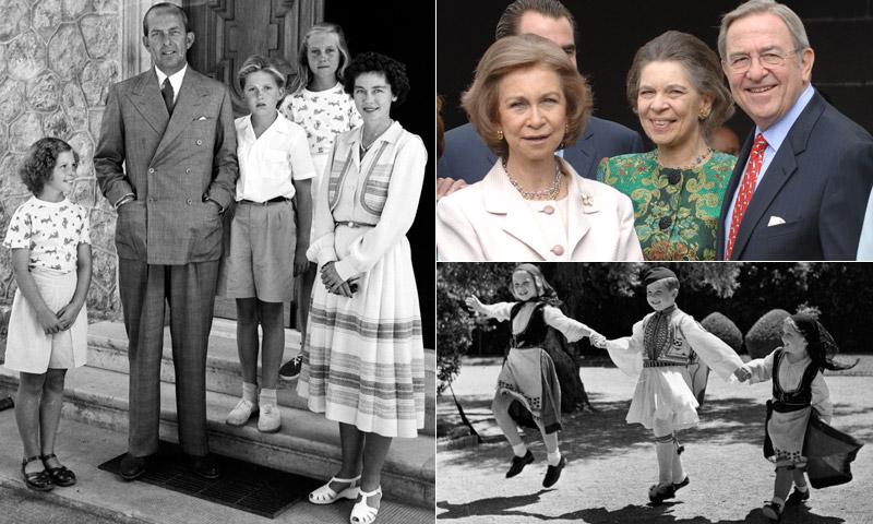 A veces lejos pero siempre cerca: la familia griega de la reina Sofía