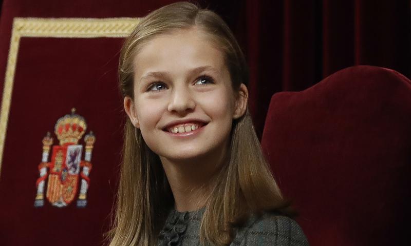 Leonor culmina con su vuelta al Congreso el gran año de su debut como princesa