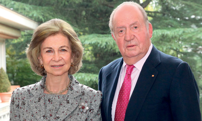 La felicitación navideña de don Juan Carlos y doña Sofía que hacía años que no se repetía