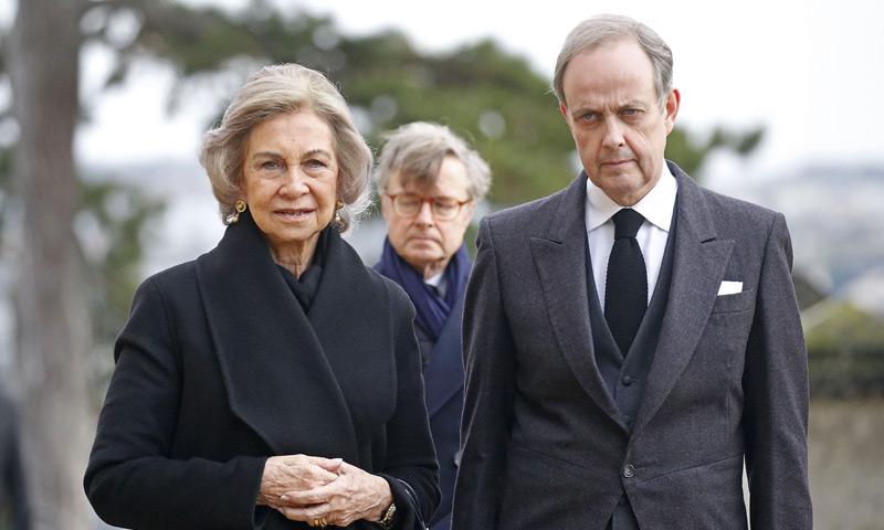 La reina Sofía viaja a Francia para asistir al funeral de Henri d'Orleans, conde de París