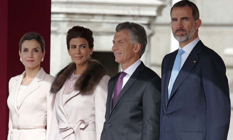 Los Reyes emprenderán a finales de marzo un viaje de Estado a Argentina