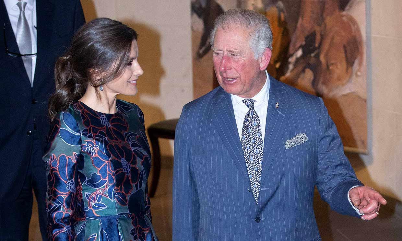 ¡Misterio resuelto! La razón del ligero retraso de doña Letizia en su encuentro con el príncipe Carlos