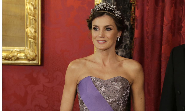 La tiara favorita de la reina Letizia: una diadema con mucha historia