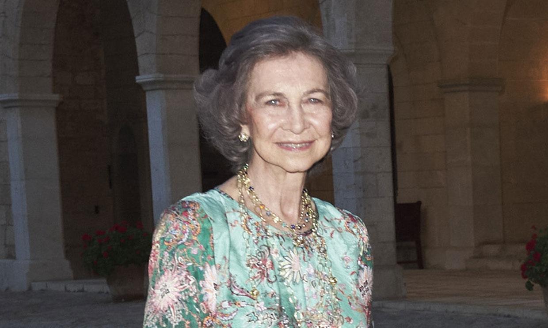 PRIMICIA: Doña Sofía ya está en Palma de Mallorca para disfrutar de las vacaciones de Semana Santa