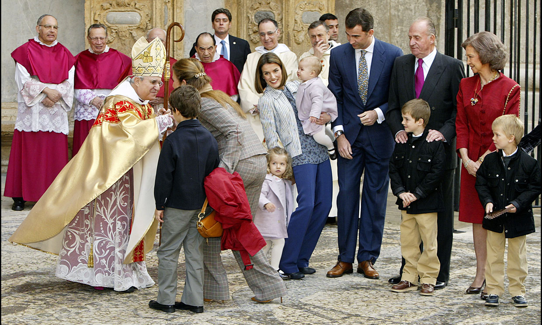 La Catedral de Palma: punto de encuentros y un sonado desencuentro de la Familia Real