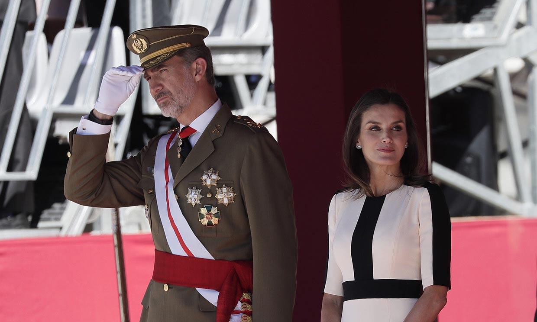 Los Reyes conmemoran el 175 aniversario de la Guardia Civil