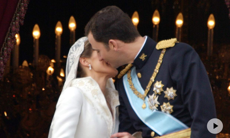 Quince momentos inolvidables de la boda de don Felipe y doña Letizia