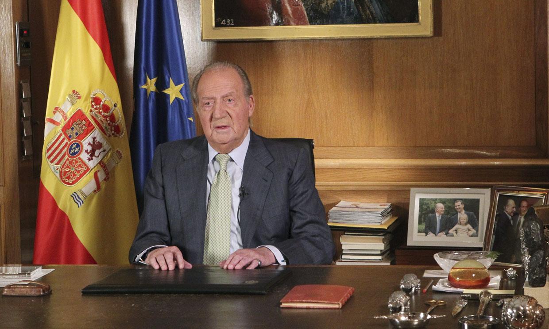 Recordamos el discurso con el que don Juan Carlos abdicó hace cinco años
