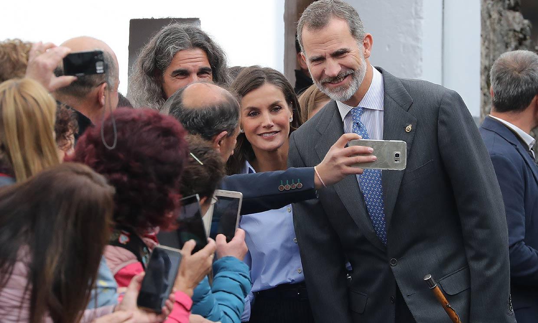 ¿Cómo son los Reyes Felipe VI y Letizia de cerca?
