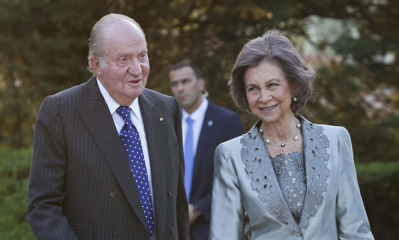 Los reyes Juan Carlos y Sofía se citan en Sanxenxo